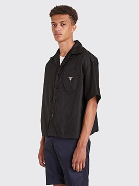 Prada Gabardine Nylon Shirt Black