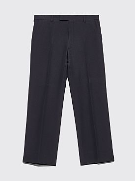 Prada Classic Fit Twill Pants Navy