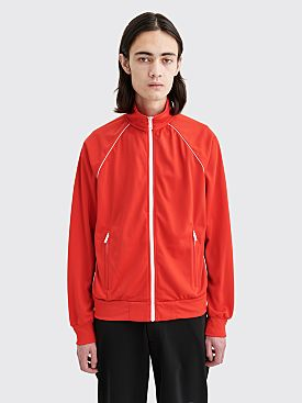 Prada Technical Track Jacket Red