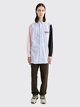 Prada Oxford Shirt Stripe Blue