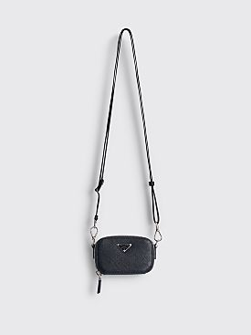 Prada Saffiano Leather Trick Bag Black