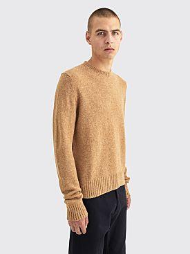 Prada Shetland Wool Pullover Camel
