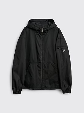 Prada Gabardine Re-Nylon Jacket Black