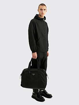 Prada Nylon Travel Bag Black