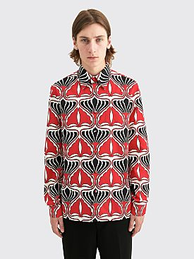 Prada Cotton Poplin Shirt Red