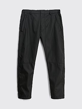 Prada Gabardine Re-Nylon Track Pants Black