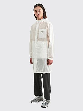 Prada Re-Nylon Coat White