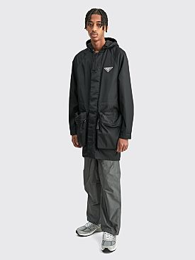 Prada Re-Nylon Parka Black