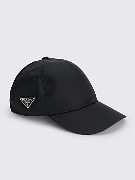 Prada Nylon Baseball Cap Black