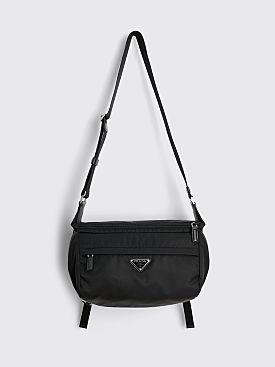 Prada Nylon Shoulder Bag Black