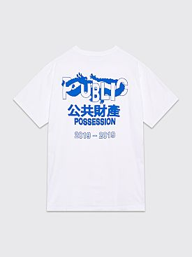 Public Possession Fortune T-Shirt White