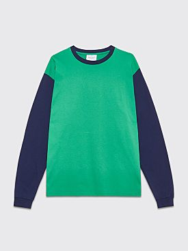 Public Possession United Emotions LS T-Shirt Green / Navy