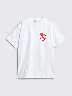 Public Possession Pasta T-shirt White
