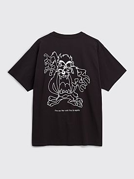 Public Possession Far Out T-shirt Black