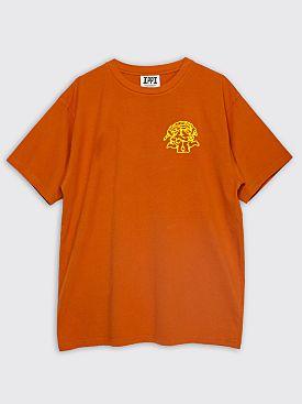 Public Possession Chill Pill T-shirt Ochre