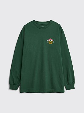 Quartersnacks Mountain LS T-shirt Forest Green