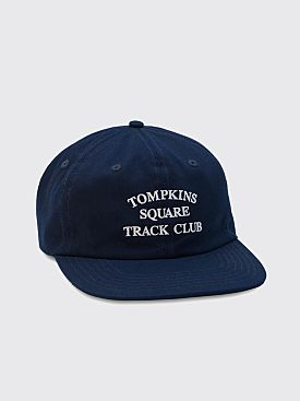 Quartersnacks Track Club Cap Navy