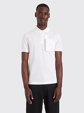 Raf Simons x Fred Perry Space Pocket Pique Shirt White