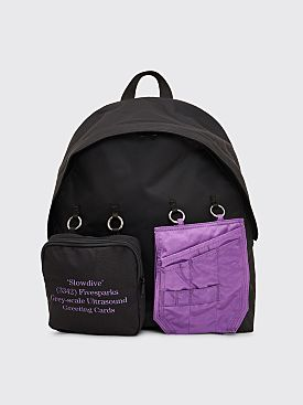 Raf Simons x Eastpak Padded Loop Backpack Black / Purple
