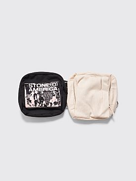 Raf Simons x Eastpak Loop Waistbag Beige / Black