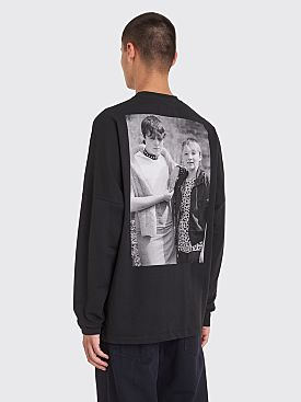 Raf Simons x Fred Perry Print Long Sleeve T-shirt
