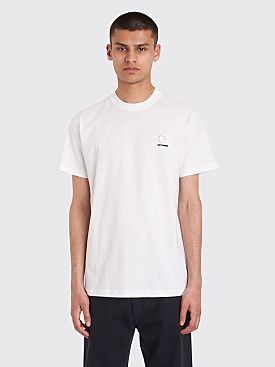 Raf Simons x Fred Perry Laurel Detail T-shirt White