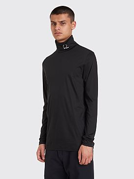 Raf Simons x Fred Perry Long Sleeve Rollneck T-shirt Black