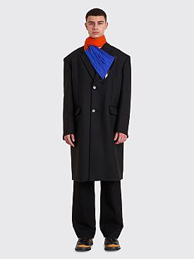 Raf Simons Classic Big Coat Black