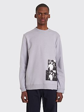 Raf Simons Crewneck Clubbers Sweater Silver