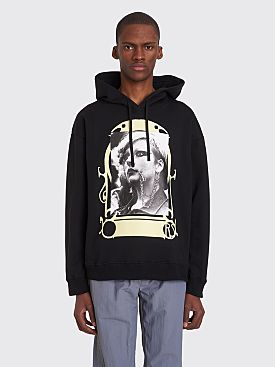 Raf Simons Punkette Hooded Sweatshirt Black
