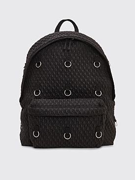Raf Simons x Eastpak Loop Padded Backpack Black Matlassé