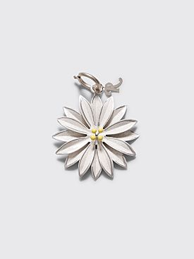 Raf Simons Flower Charm White / Yellow
