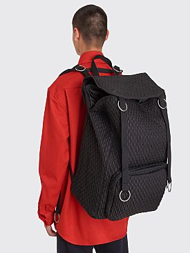 Raf Simons x Eastpak Loop Topload Backpack Black Matlassé