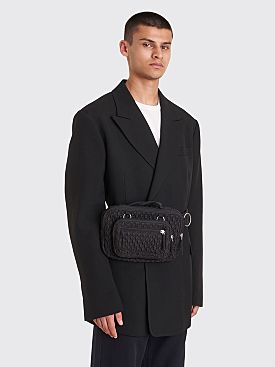 Raf Simons x Eastpak Loop Waistbag Black Matlassé