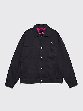 Raf Simons x Fred Perry Twill Jacket Black