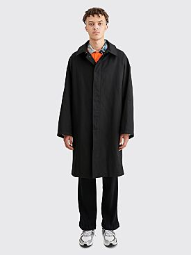 Raf Simons Denim Car Coat Black