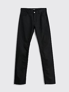 Raf Simons Slim Fit Denim Pants Black