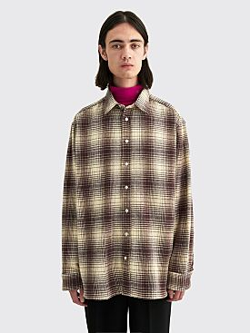 Raf Simons Big Fit Shirt The Others Brown Tabacco