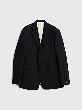 Raf Simons Straight Fit Blazer Dark Navy
