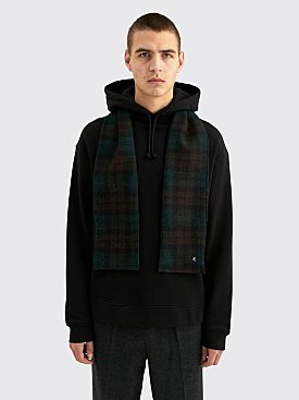 Raf Simons Regular Fit Hoodie With Detachable Scarf