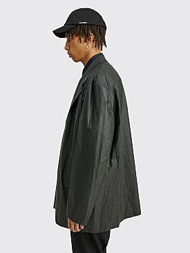 Raf Simons Nylon Big Blazer Black