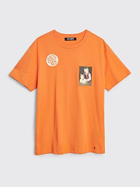 Raf Simons Regular Fit T-shirt Join Us Orange