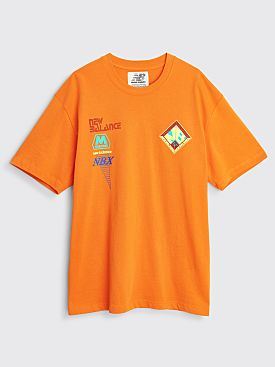 New Balance x Salehe Bembury Logo Mania T-shirt Orange