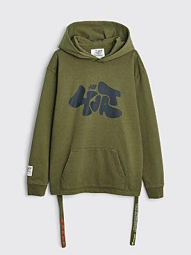 New Balance x Salehe Bembury Yurt Hoodie Oak Leaf Green