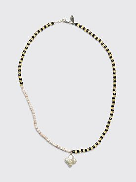 Santangelo Pronto Necklace Black / Yellow
