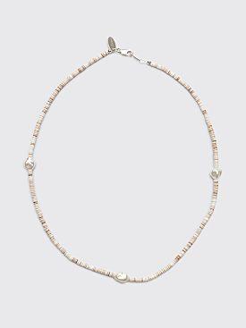 Santangelo Shoom Tri Pearl Necklace Shell