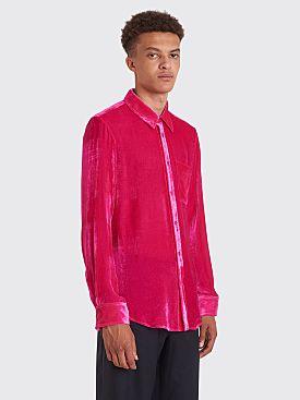 Sies Marjan Sander Fluid Corduroy Shirt Fuchsia