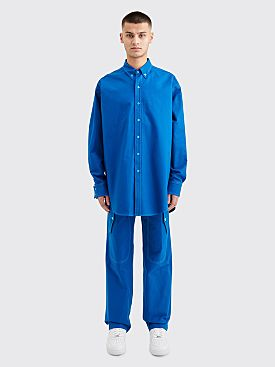 Sies Marjan Anderson Canvas Shirt Lapis Blue