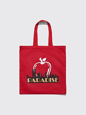 Paradis3 Big Apple Tote Bag Red