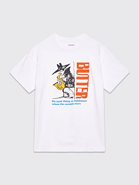 Butter Goods Inhibition T-shirt White